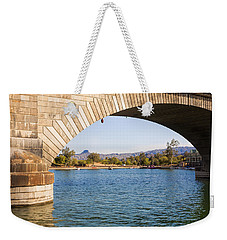 London Bridge At Lake Havasu City Weekender Tote Bag