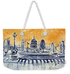 London By Night Weekender Tote Bag by Kovacs Anna Brigitta
