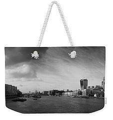 London City Panorama Weekender Tote Bag by Pixel Chimp