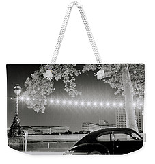 Porsche In London Weekender Tote Bag by Shaun Higson