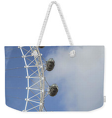 London Eye Weekender Tote Bag by Joana Kruse