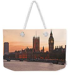 London Lights Weekender Tote Bag