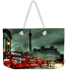 London Red Buses And Routemaster Weekender Tote Bag