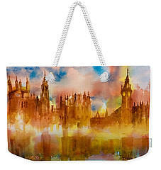 London Rising Weekender Tote Bag