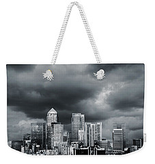 London Skyline 7 Weekender Tote Bag by Mark Rogan