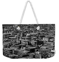 London Skyline Weekender Tote Bag by Martin Newman