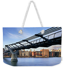 Millennium Bridge London 1 Weekender Tote Bag by Rod McLean