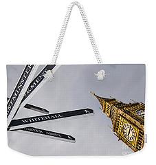 London Street Signs Weekender Tote Bag