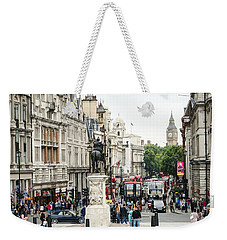 London Whitehall Weekender Tote Bag by Chevy Fleet