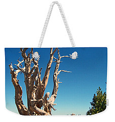 Weekender Tote Bag featuring the photograph Lone Bristlecone by Alan Socolik