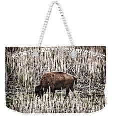 Lone Buffalo Weekender Tote Bag