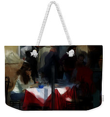 Lone Diner Weekender Tote Bag by Ron Harpham