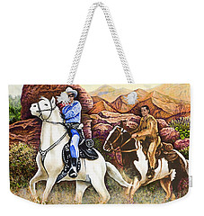 Lone Ranger And Tonto Ride Again Weekender Tote Bag