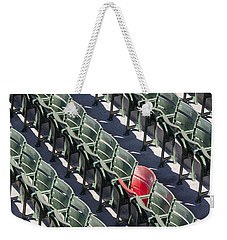 Lone Red Number 21 Fenway Park Weekender Tote Bag