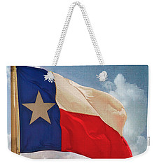 Lone Star Flag Weekender Tote Bag