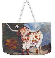 Lone Star Longhorn Weekender Tote Bag