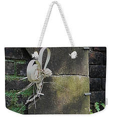 Weekender Tote Bag featuring the photograph Lone Stone by Patricia Greer