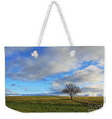 Lone Tree At Epsom Downs Uk Weekender Tote Bag