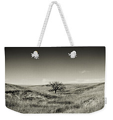 Lone Tree Winter Weekender Tote Bag
