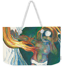 Loneliness And Fear Weekender Tote Bag by Melinda Dare Benfield