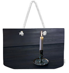 Lonely Candle Weekender Tote Bag