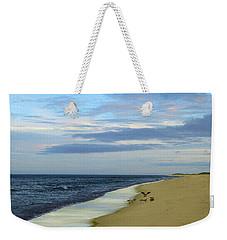 Lonely Cape Cod Beach Weekender Tote Bag