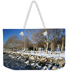Lonely Park Weekender Tote Bag by Karen Silvestri
