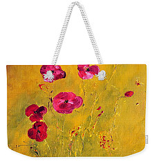 Lonely Poppies Weekender Tote Bag