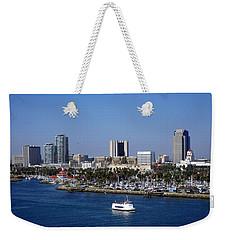 Long Beach Weekender Tote Bag by Athala Carole Bruckner