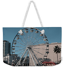 Weekender Tote Bag featuring the photograph Long Beach In Technicolor by Clayton Bruster