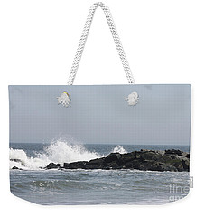 Long Beach Jetty Weekender Tote Bag