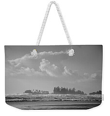 Long Beach Landscape  Weekender Tote Bag by Roxy Hurtubise
