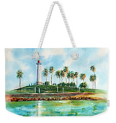 Long Beach Lighthouse  Version 2 Weekender Tote Bag