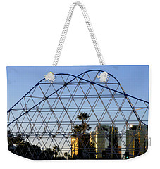 Weekender Tote Bag featuring the photograph Long Beach Lines by Clayton Bruster