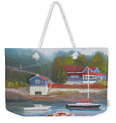 Long Cove Weekender Tote Bag