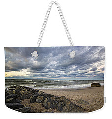 Long Island Sound Whitecaps Weekender Tote Bag