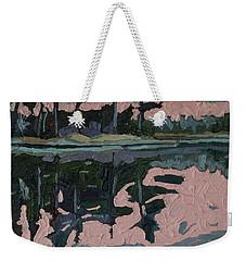Long Reach Rain Weekender Tote Bag