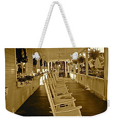 Long Southern Porch Weekender Tote Bag