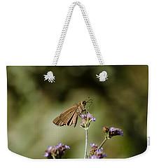 Long-winged Skipper Butterfly Weekender Tote Bag