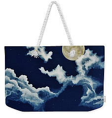 Look At The Moon Weekender Tote Bag