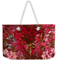 Look Deep Into My Heart Weekender Tote Bag