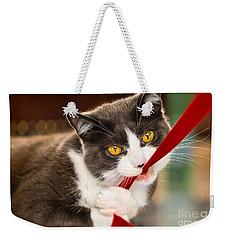 Look Into My Eyes Weekender Tote Bag by Carsten Reisinger