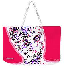 Look Mix Neon Weekender Tote Bag