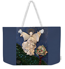 Look Unto The Hills Weekender Tote Bag
