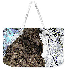 Weekender Tote Bag featuring the photograph Look Up Look Way Up by Nina Silver
