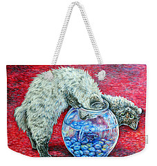 Lookin For Some Betta Kissin Weekender Tote Bag