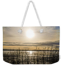 Looking At Wales Through The Grass Weekender Tote Bag