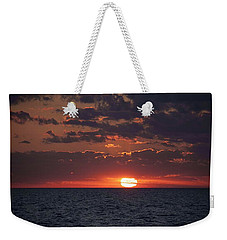 Weekender Tote Bag featuring the photograph Looking Back In Time by Daniel Sheldon