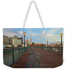 Looking Back Weekender Tote Bag by Jonathan Nguyen