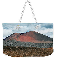 Weekender Tote Bag featuring the photograph Looking Down by Jim Thompson